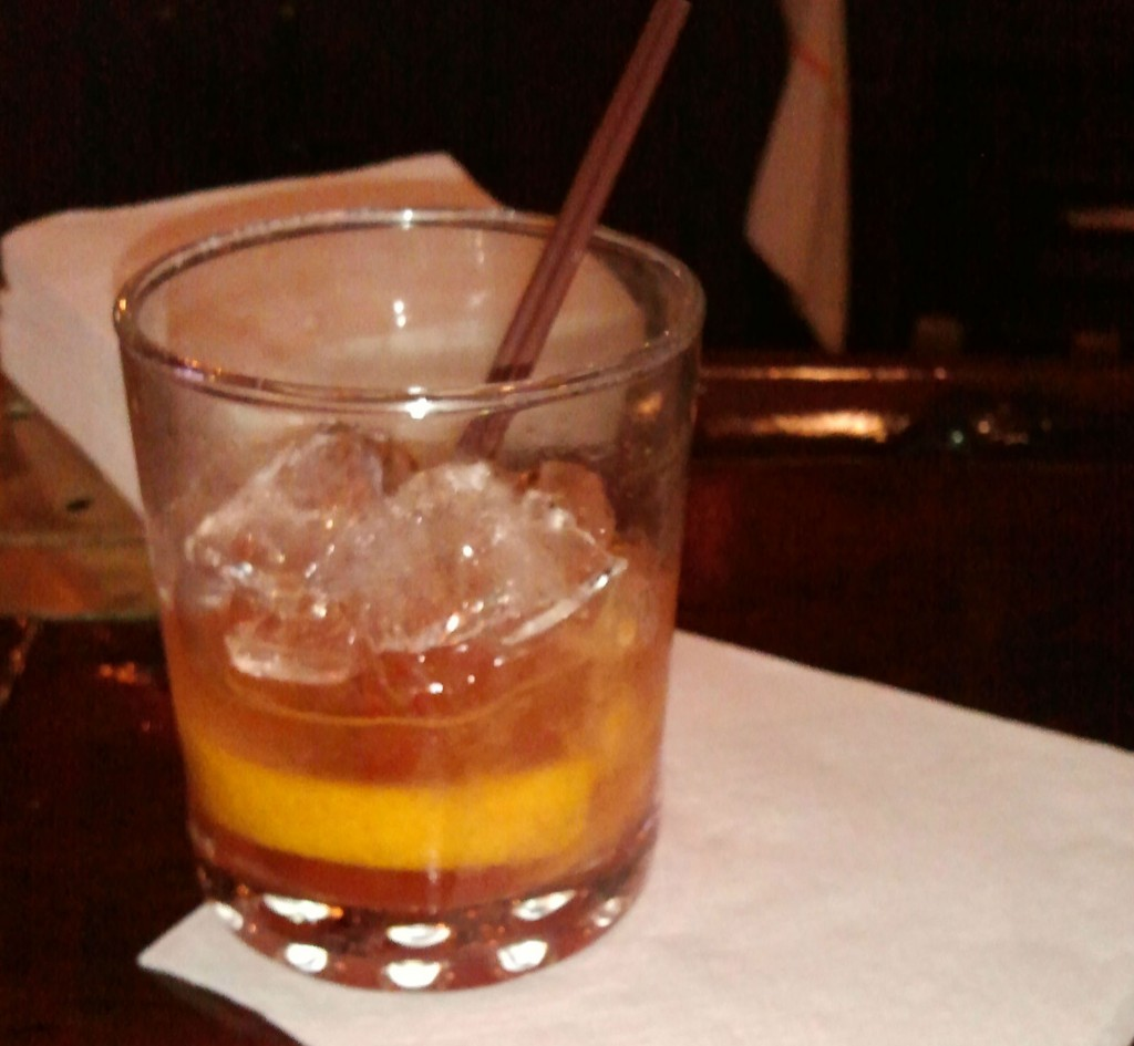 Bourbon Old Fashioned Cocktail, Jay's Seafood in Dayton, OH; Photo: Eric Colleary