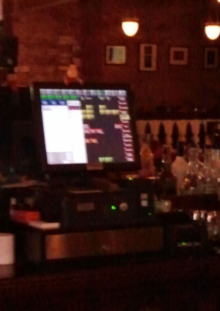 The New Cash Register on Ritty's Bar at Jay's Seafood, Photo: Eric Colleary