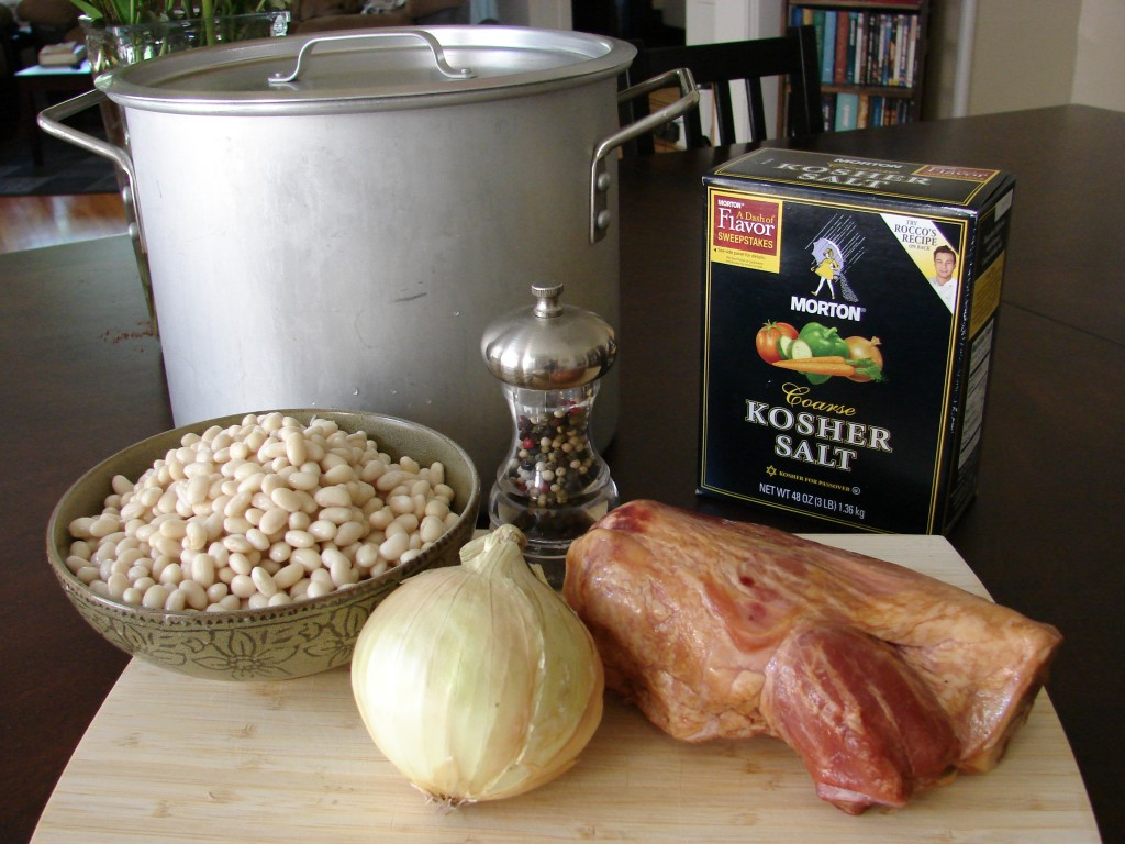 Ingredients for Senate Bean Soup, Photo: Eric Colleary