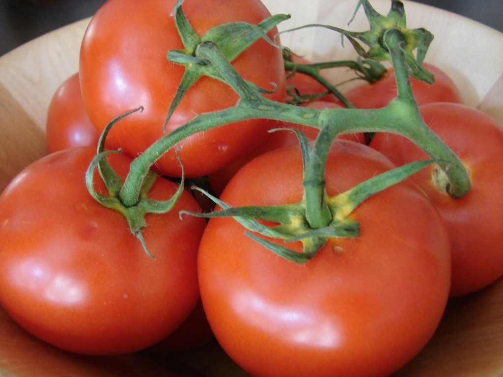 Vine Ripened Tomatoes, Photo: Eric Colleary