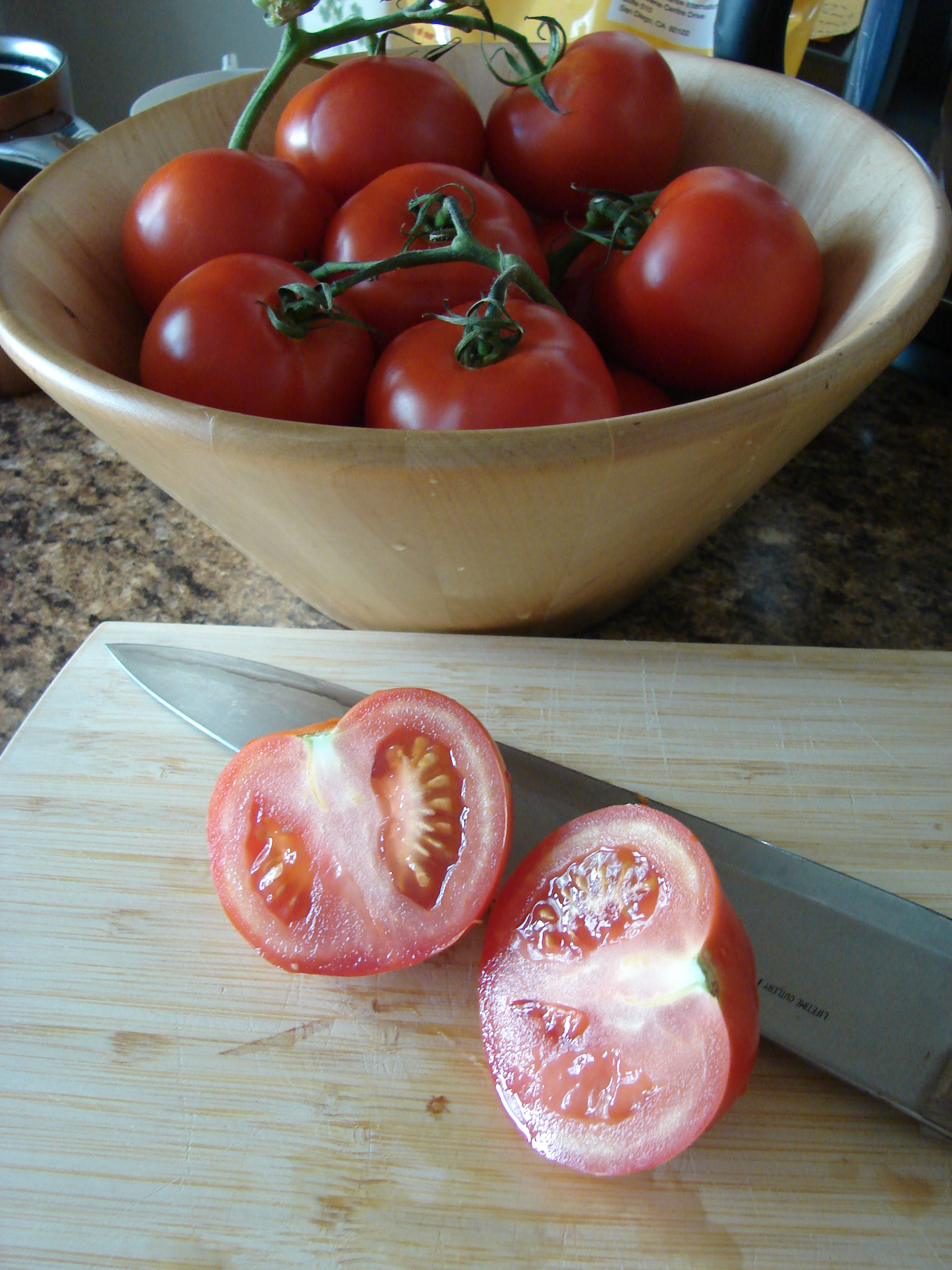 Sliced Tomato, Photo: Eric Colleary