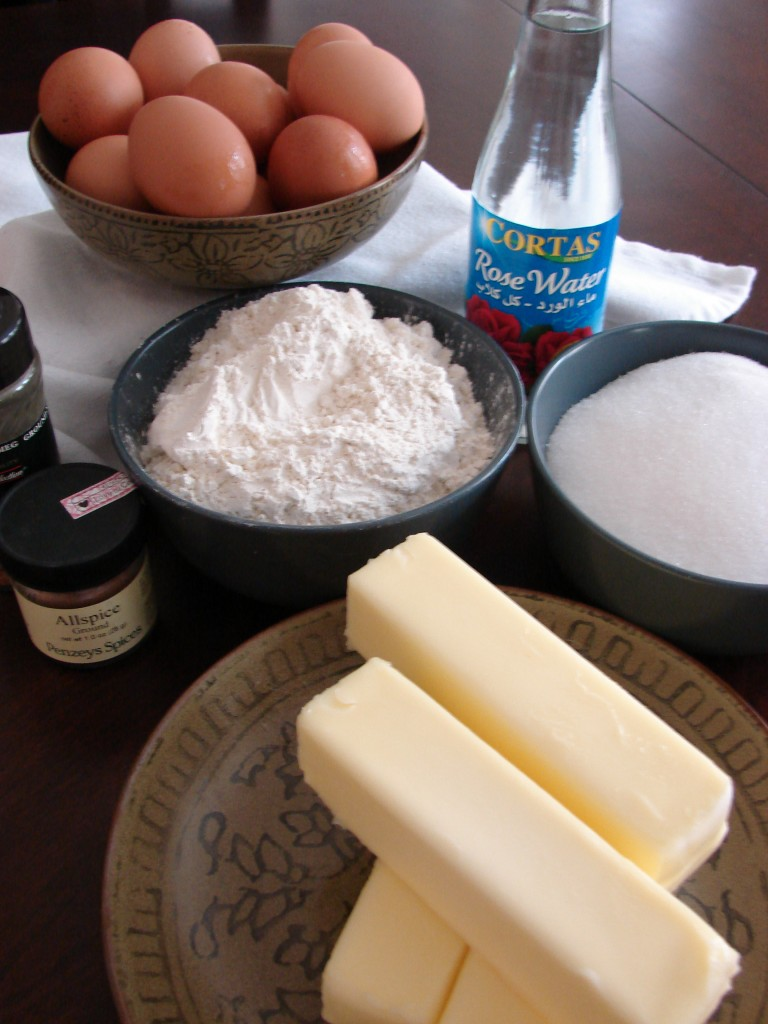 Pound Cake Ingredients, Photo: Eric Colleary