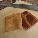 Slab bacon with rind, Photo: Eric Colleary