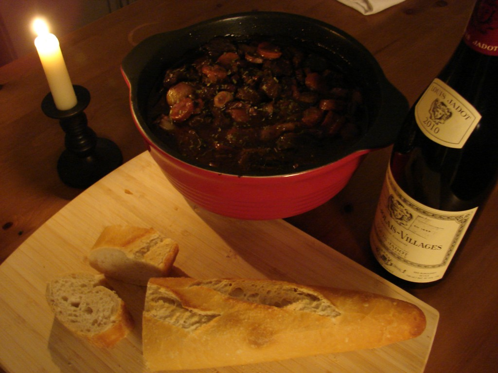Julia Child's Boeuf Bourgignon, Photo: Eric Colleary