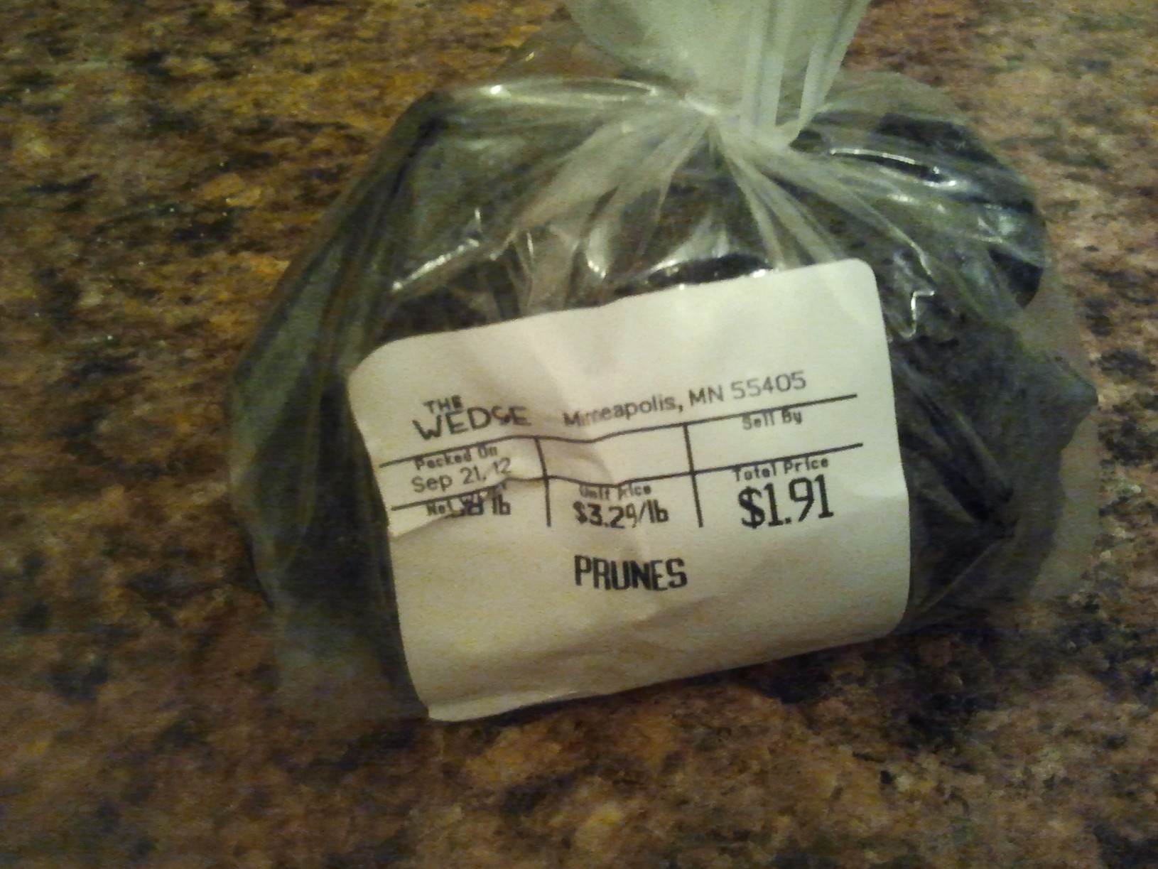 Prunes, a.k.a. Dried Plums