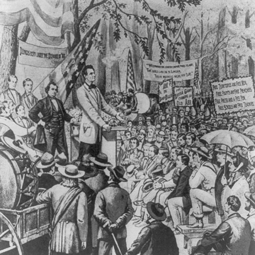 Lincoln-Douglas Debate, 1858
