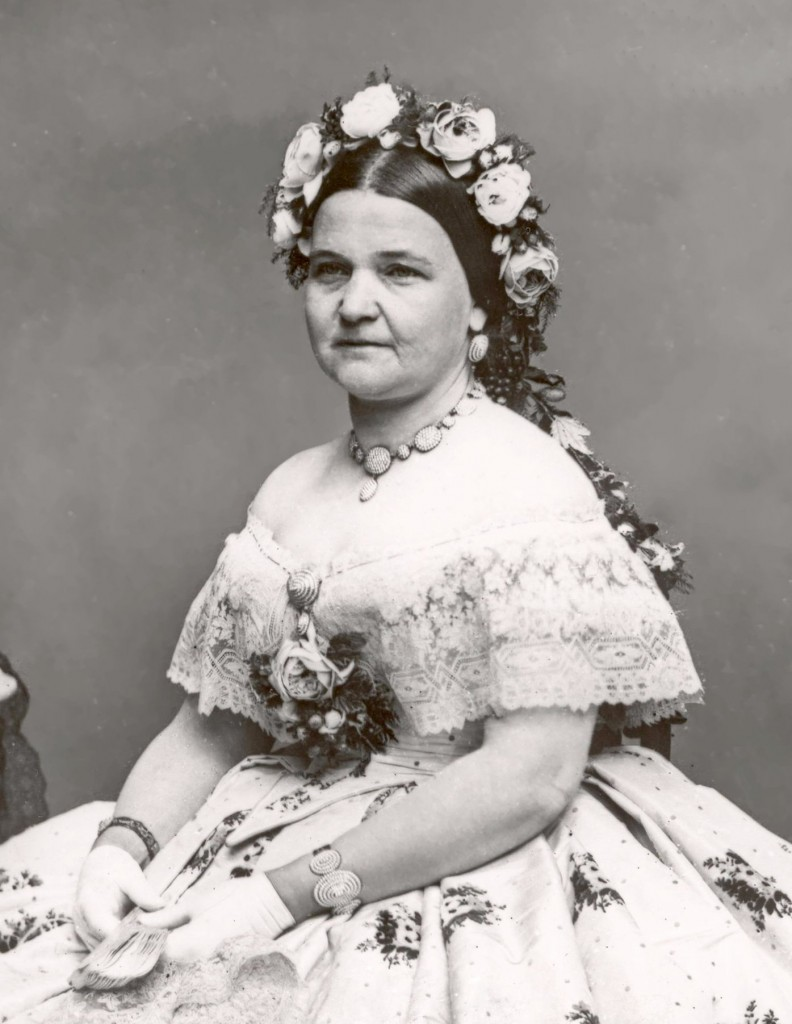 Mary Todd Lincoln, Portrait by Matthew Brady