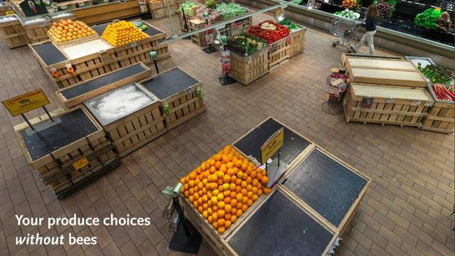 Your Produce Choices Without Bees, Source: Whole Foods Markets