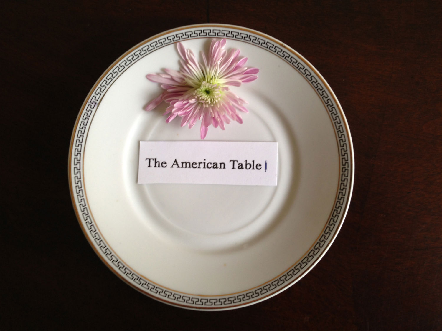 American Table - Plate