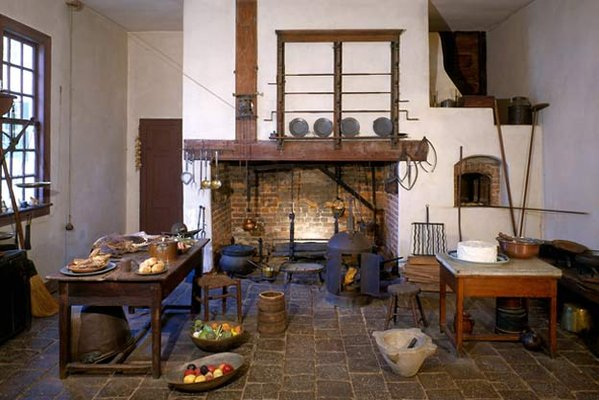 Kitchen at Mount Vernon