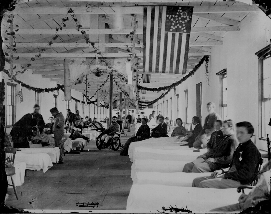Ward in the Carver General Hospital, Washington, D.C. (SOURCE: NARA)