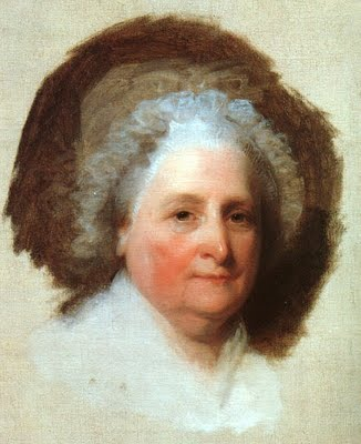 Martha Washington Portrait by Gilbert Stuart