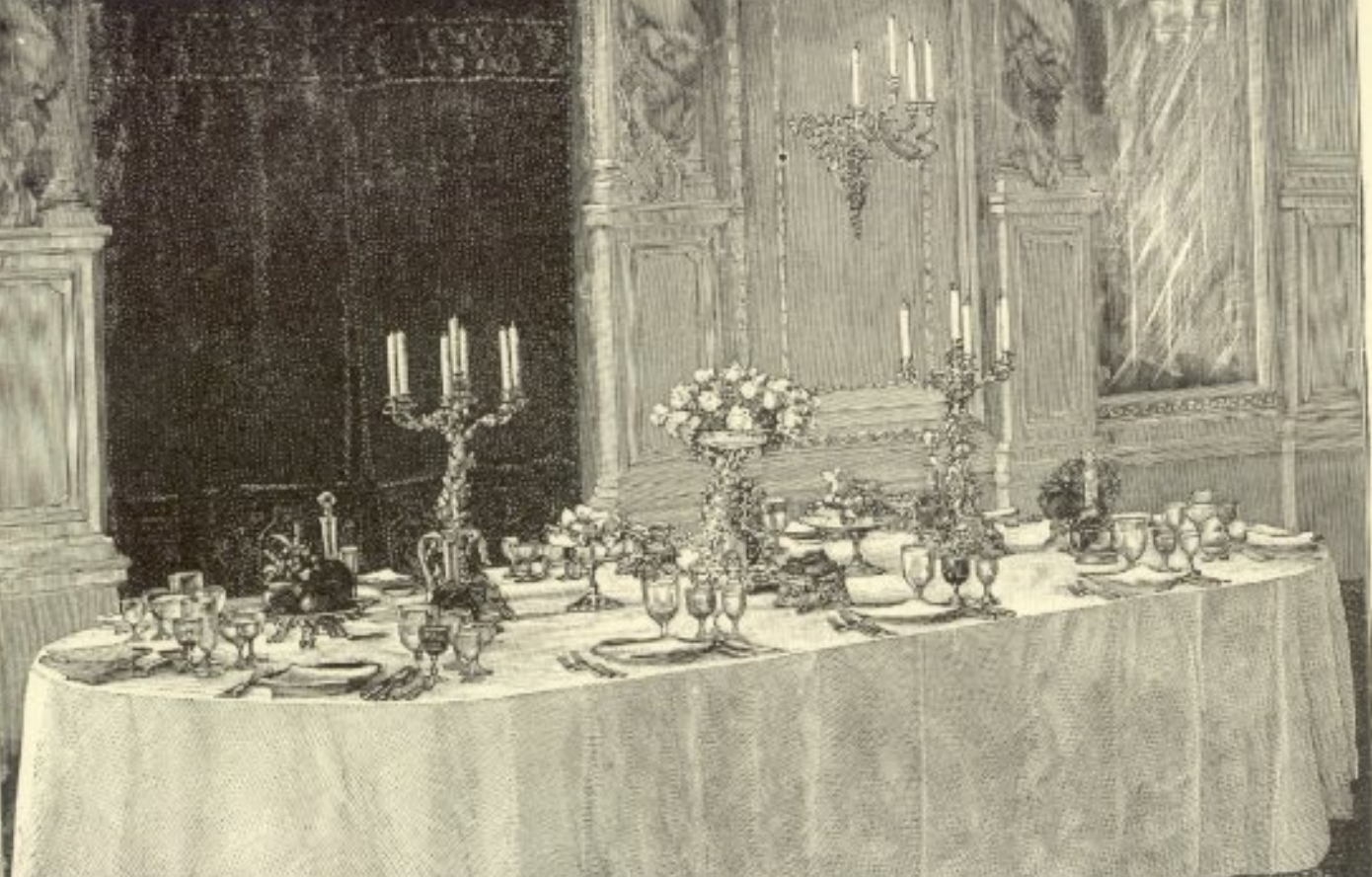 "Table Service, from Charles Ranhofer's ""The Epicurean"" (1894)"